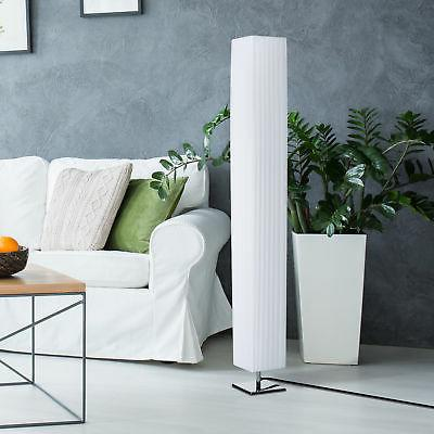 4 tall floor lamp modern fabric light