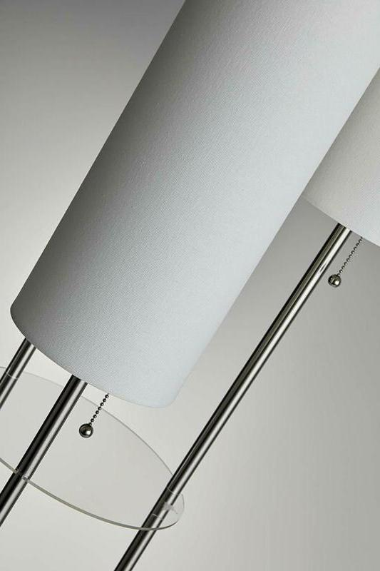 Adesso 4305-22 Trio Lamp, x inches, Brushed Steel