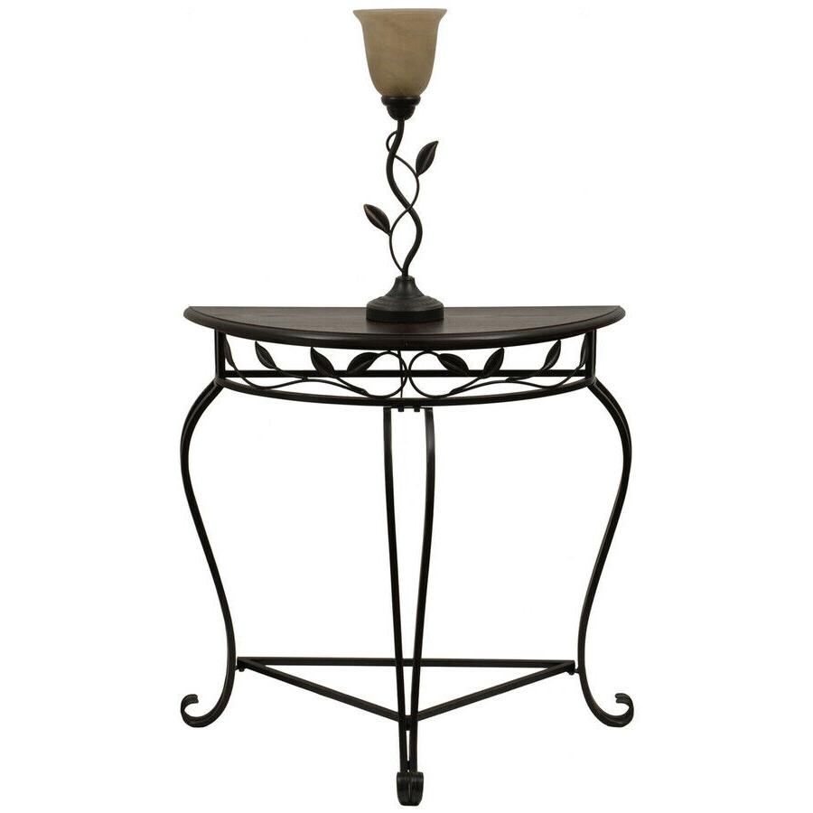 49 75 in oil rubbed bronze table