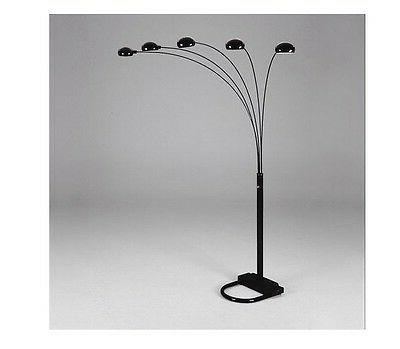 5 arms arch floor lamp include 5