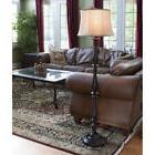 61-in Bronze 3-Way Switch Transitional Decor Shaded Floor La