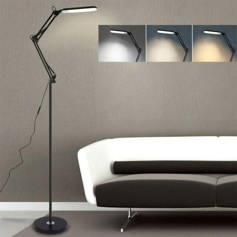 led floor lamp reading light dimmable remote
