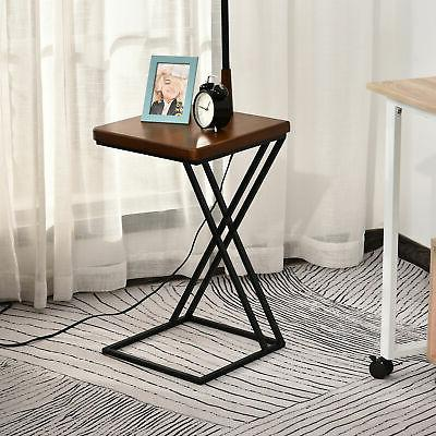 """HOMCOM 65"""" Floor with Table Extendable and Retractable"""