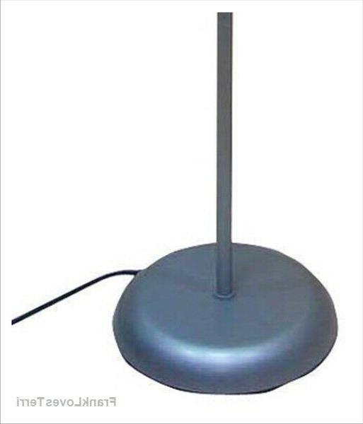 """71"""" Floor Shade Durable Rotary Switch Black Gold or Silver"""
