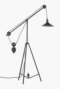 Zuo Modern 98235 Jasper - One Light Floor Lamp, Antique Blac