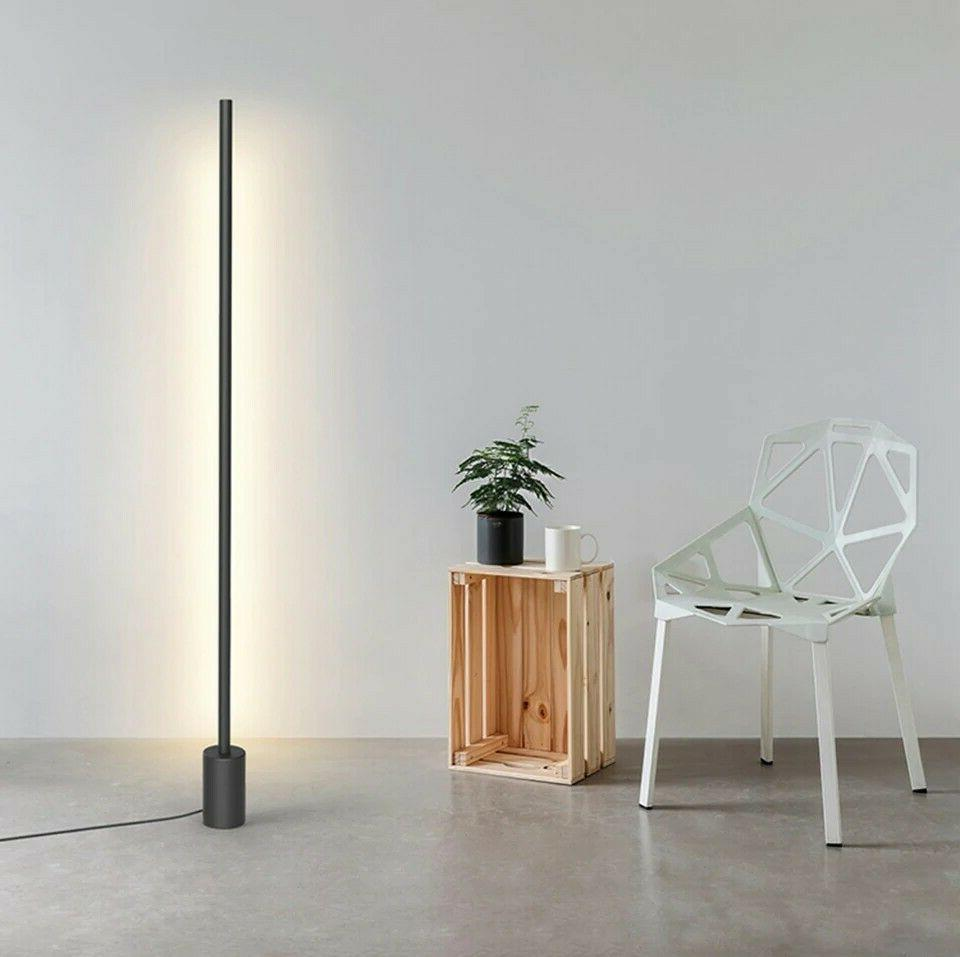 Brightech - Maxwell LED Shelf Floor Lamp - Modern Mood Light