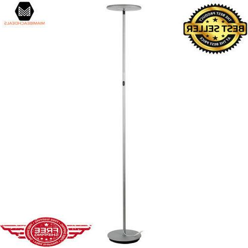 Brightech - SKY LED Torchiere Floor Lamp - Dimmable Super Br