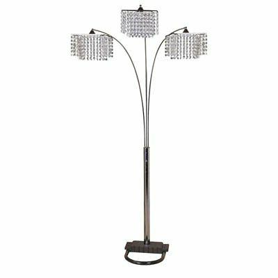 acme veta floor lamp in chrome