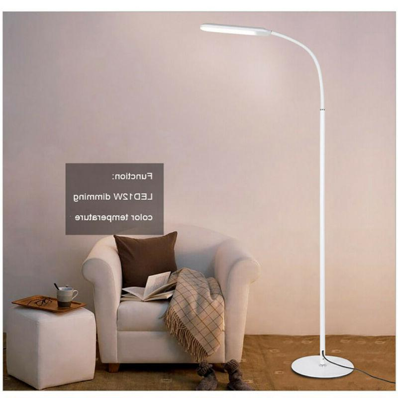 Dimmable LED Lamp Reading Light Remote Control Flexible Gooseneck