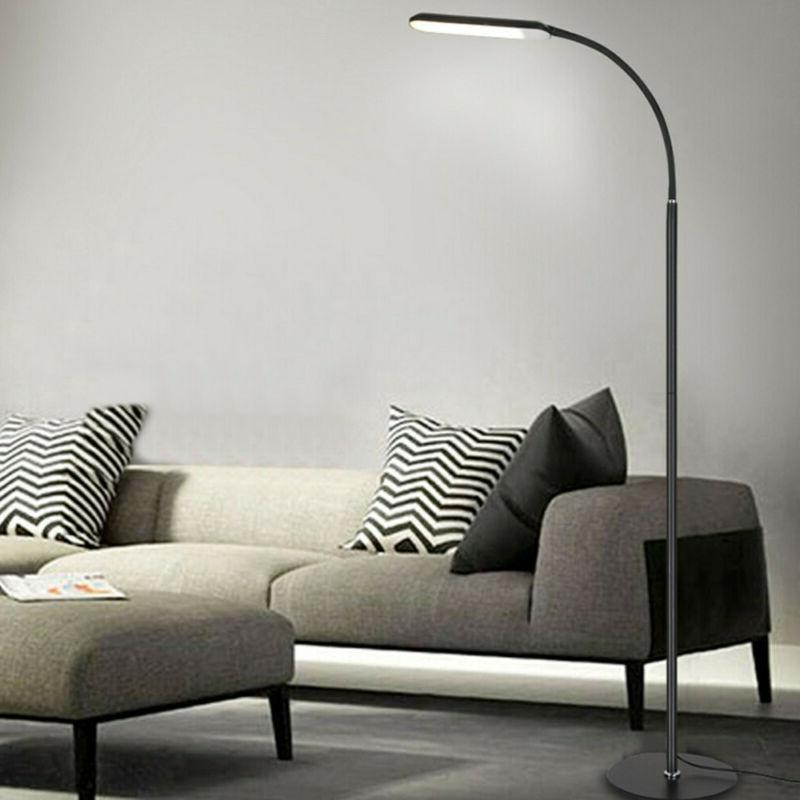 LED Floor Lamp Reading Light Standing Adjustable Gooseneck H