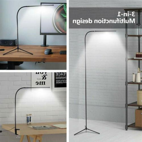 Modern Adjustable Floor Lamp Standing LED Dimmable For Readi