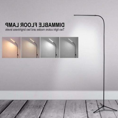 adjustable led floor lamp light standing reading