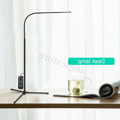 Adjustable LED Floor Standing Reading Office Dimmable Desk
