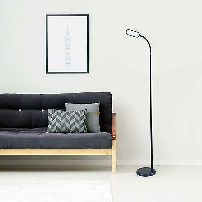 Adjustable Floor Lamp with Gooseneck, Dimmable Color Temperature