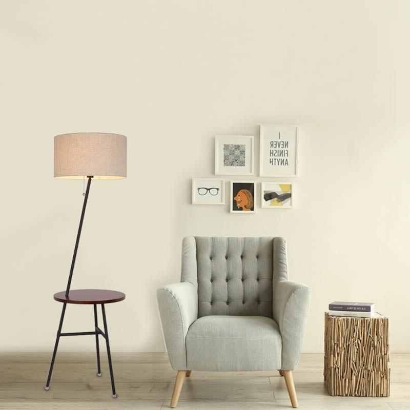 American <font><b>table</b></font> lighting creative white remote bedroom