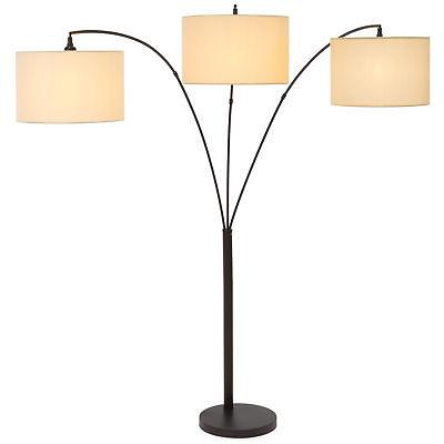 bcp 70in 3 light arc floor lamp