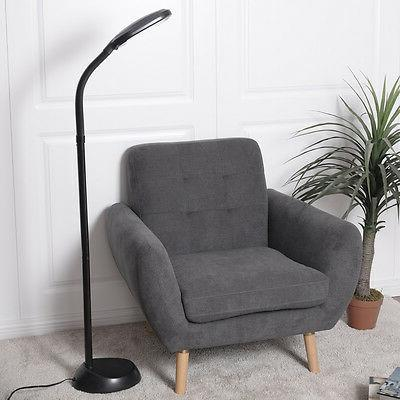 Black 5Ft Tall Reading Light