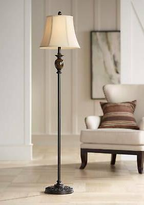 Corrie Club Bronze Floor Lamp