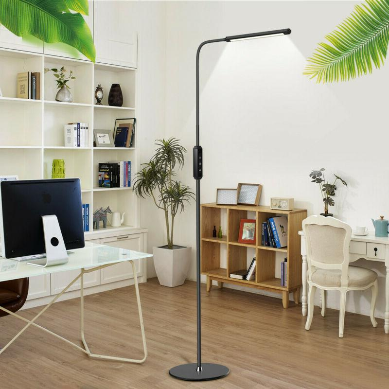 Adjust Floor Light Standing Reading Office Dimmable US