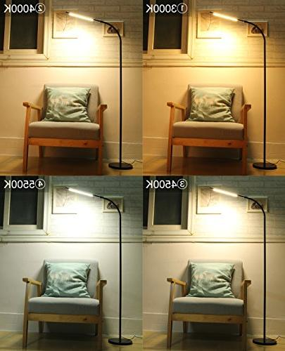 Byingo Touch Sensor Switch Floor Lamp - Simplicity Color Stepless - Fully Living Room, Bedroom