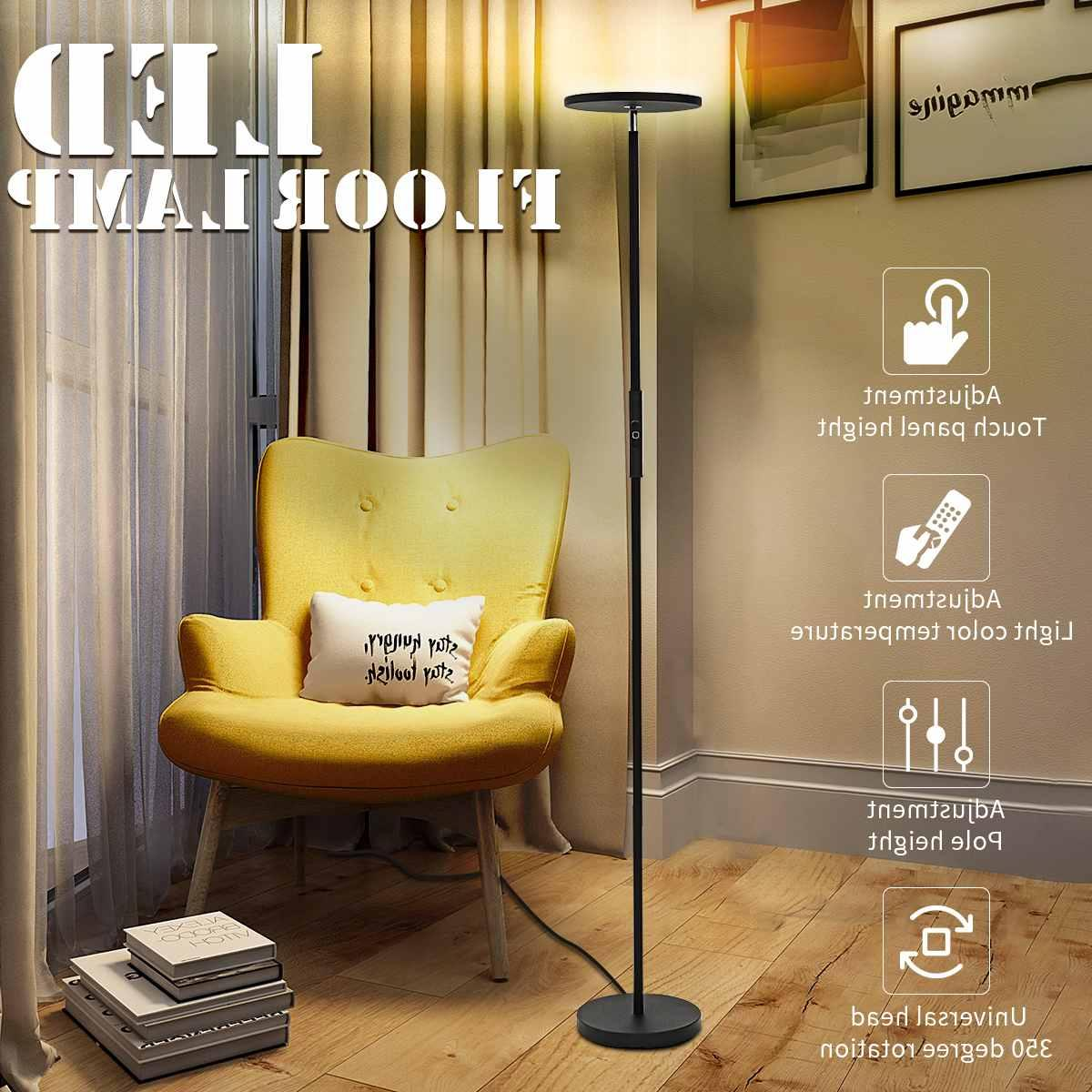 European Adjustable Lights Dimmable Remote Control Living Room