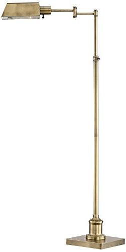 Brightech Trilage LED Floor Lamp   Tall Pole Modern Industri
