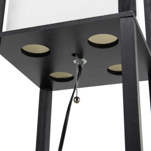 Contemporary Lamp Storage Minimalist Black