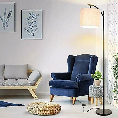 Floor Lamp-Classic Shade, Modern For Bedroom,