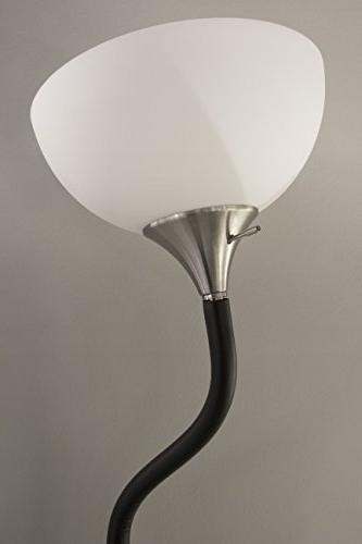 "Adesso 7007-01 71"" Floor Lamp, Compatible"