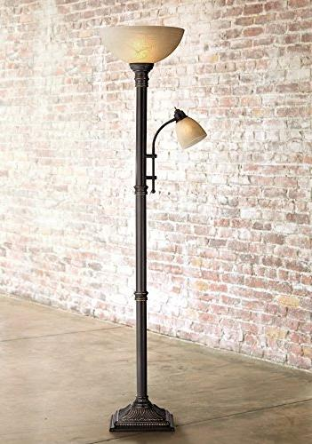 Garver Torchiere Lamp with Reader
