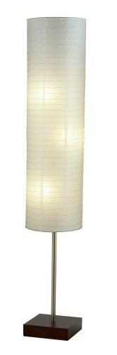 Adesso 4099-15 Gyoza Floorchiere 67-Inch Floor Lamp with Ric