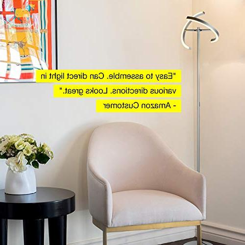 Brightech Halo - Modern Floor Rooms & Offices - Bright, Light Reading In your Bedroom -