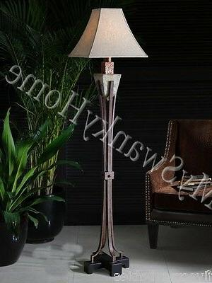 indoor outdoor tuscan stone floor lamp patio