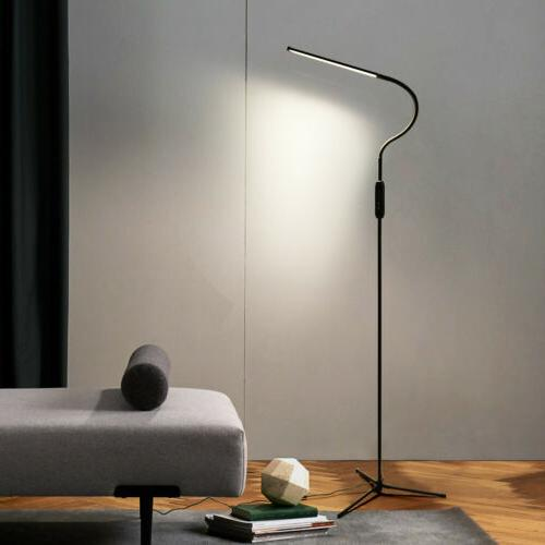 Adjustable LED Floor Lamp Remote Standing Reading Home Offic