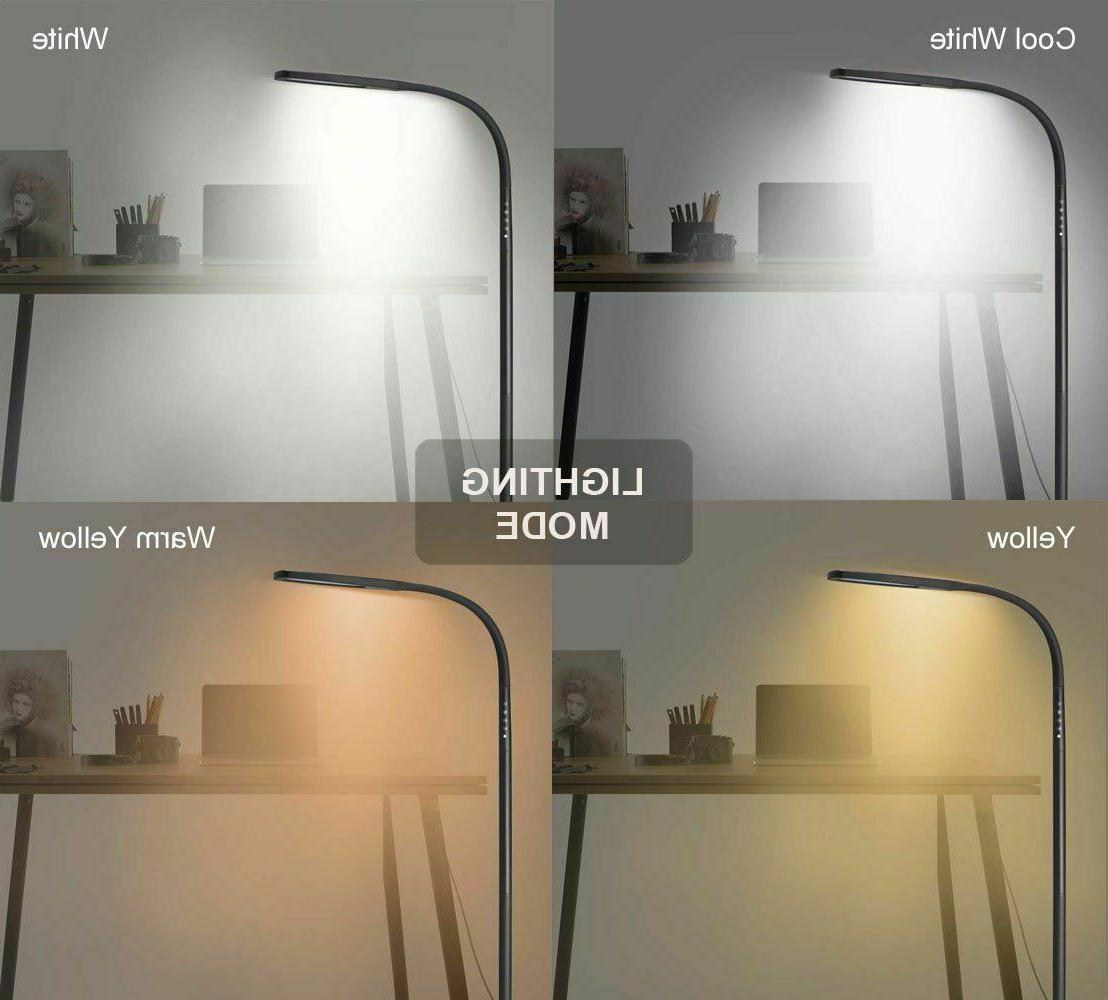 LED Floor Lamp 360* Goose-neck Lighting Mode