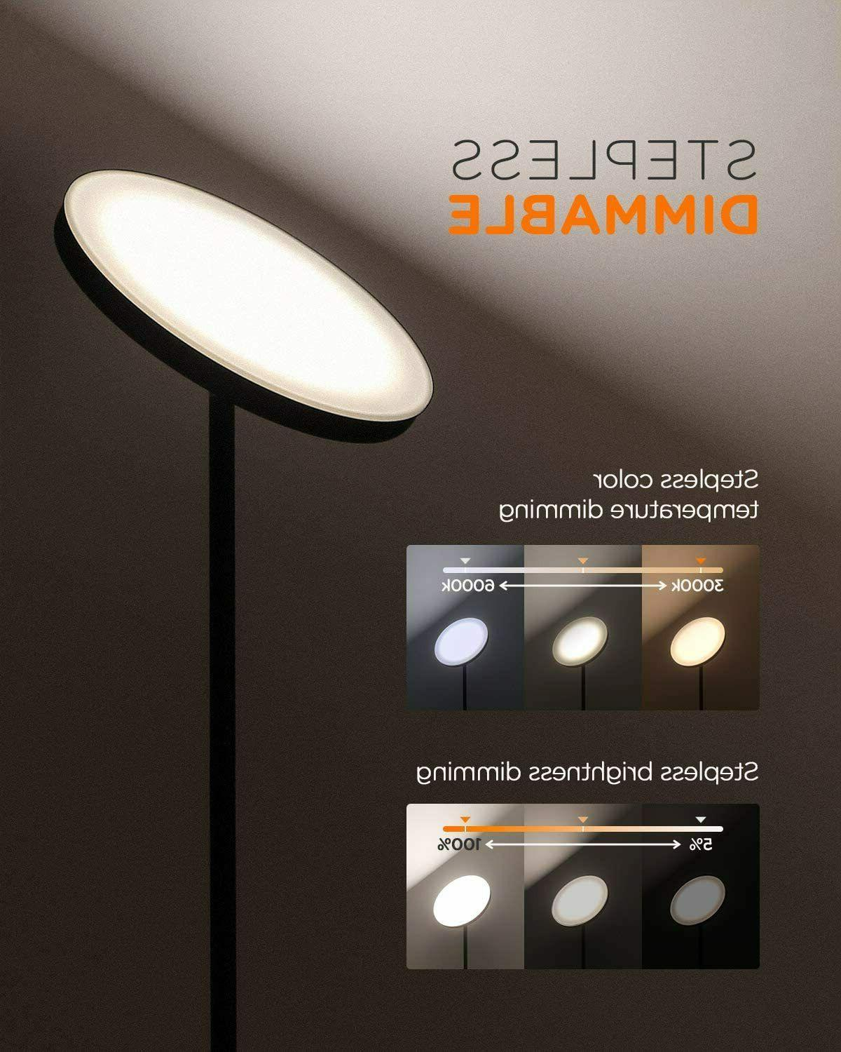LED Floor Lamp Stepless Dimming/Color Lamp