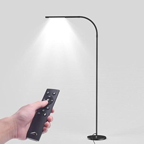 Joly Joy LED Modern Floor Lamps, Flexible Gooseneck Standing