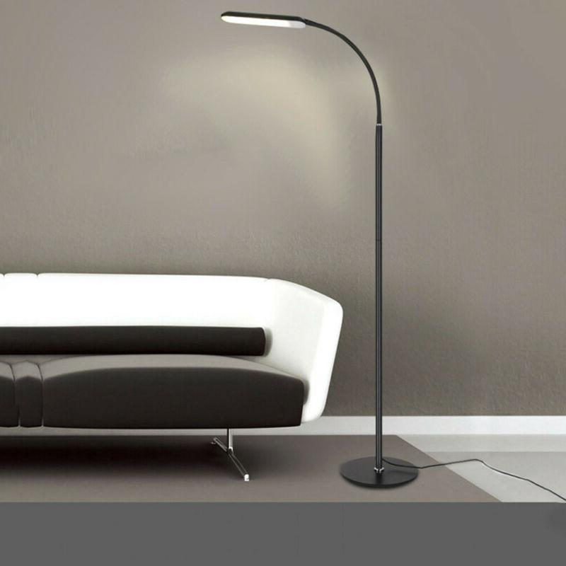 LED Reading Floor Lamp Protection Remote Control Switch