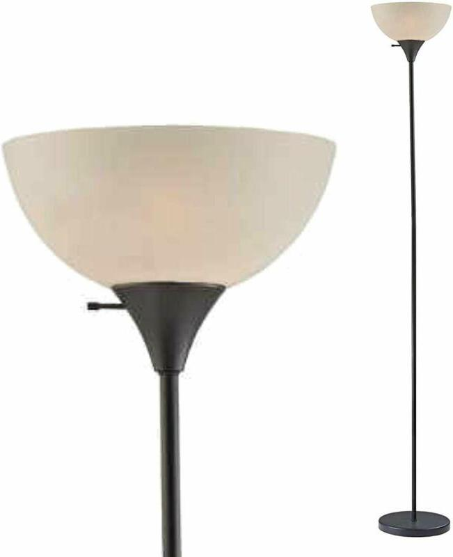 Light Accents Susan Single Floor Lamp For Living Rooms - Sta