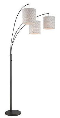Lite Source LS-82533 Vasanti Floor Lamp Dark Bronze
