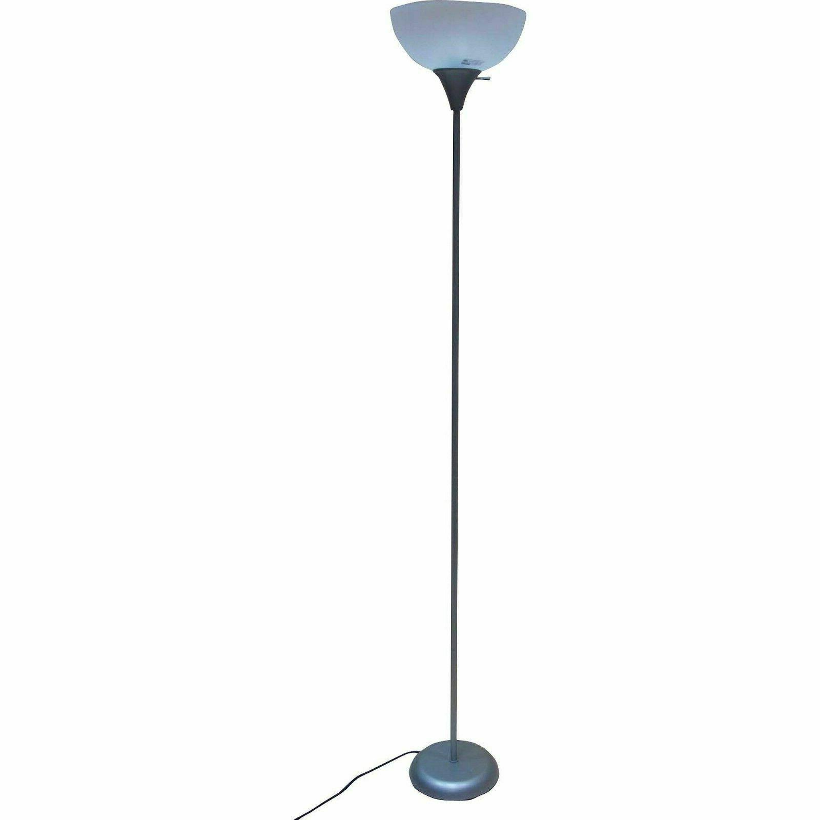 Metal Floor Living Torchiere Decor Shade Reading