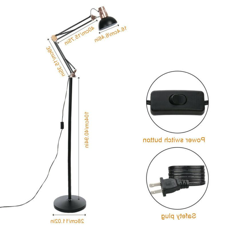 Metal Lamp Swing Arm Lamp Adjustable Reading Light