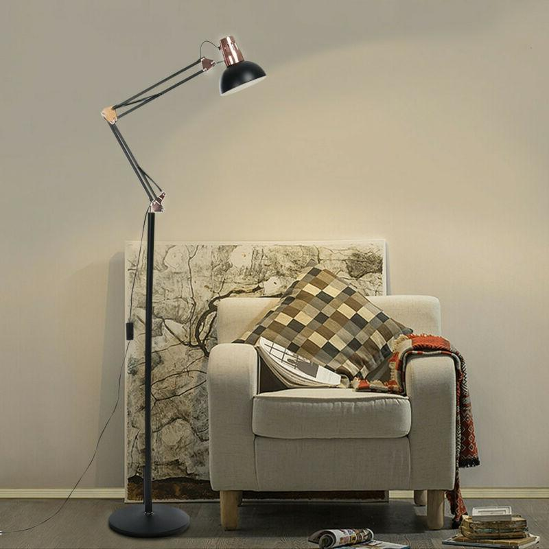 Adjustable LED Floor Lamp Light Standing Reading Home Office