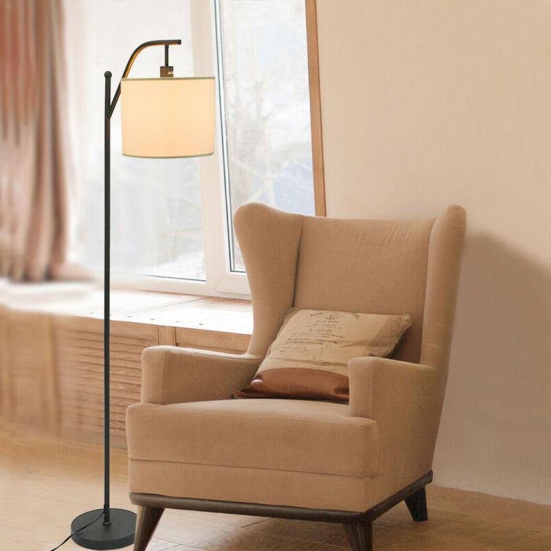 Bedroom LED Floor Lamp Standing Living Room Arc Light With H