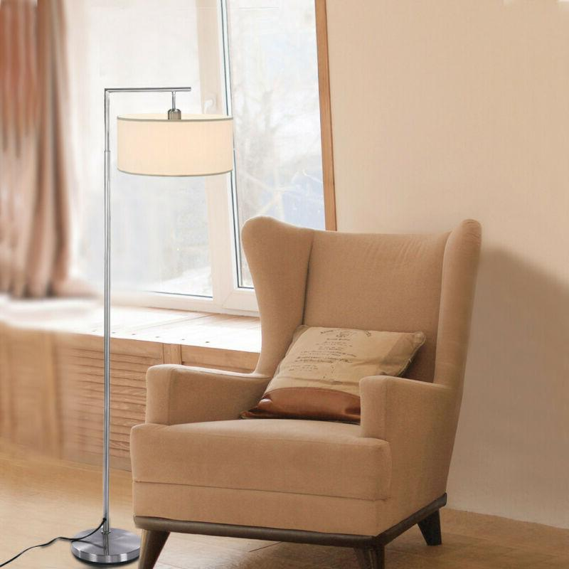 Tall Metal Floor Lamp Living Room Light Stand Torchiere Home