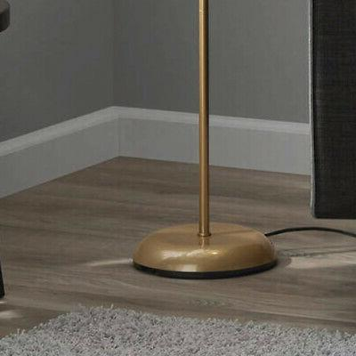 Gold Metal Floor Lamp with Living Room Stand, 72