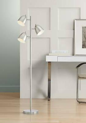 modern retro floor lamp 3 light tree