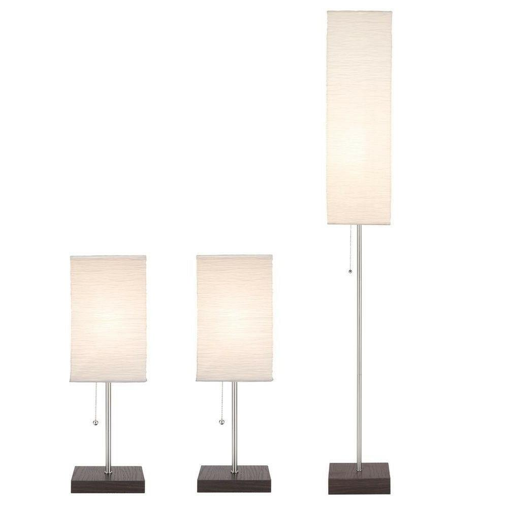 paper shade lamp set
