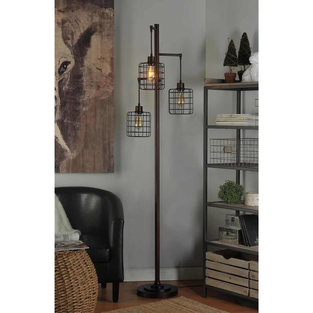 Piper Lamp 72 Tall Rubbed Bronze Floor