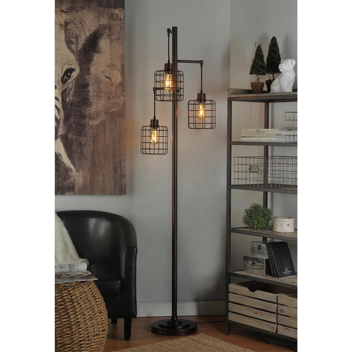 piper lamp 72 inch tall rubbed bronze